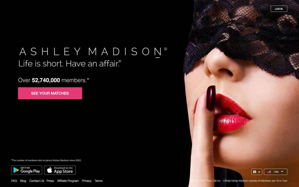 Rencontre à Ashley Madison aime decouvrir