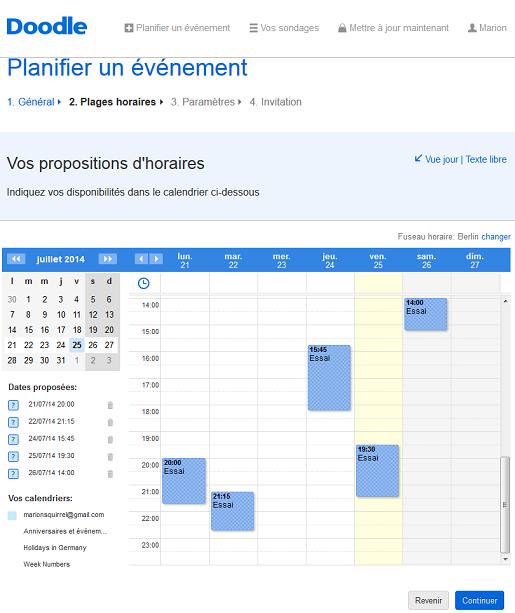 Planifiez des réunions spontané
